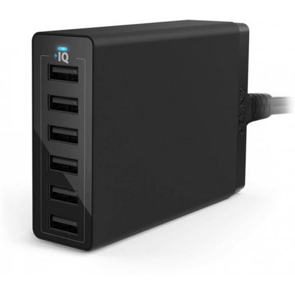 Raspberry Pi Cluster Power Supply - Anker Power Port 6 (60W)