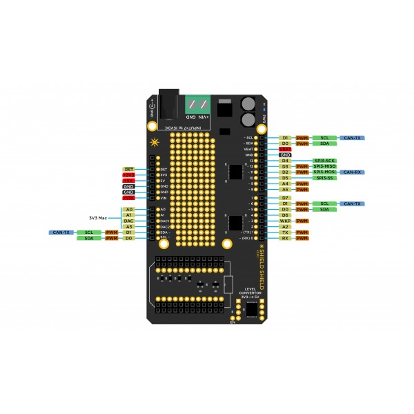 Arduino Shield for Photon