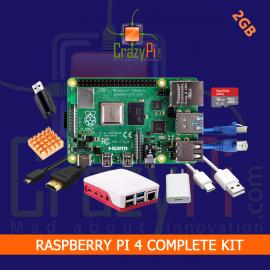 Raspberry Pi 4 Complete Kit - 2GB