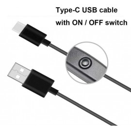 ON / OFF Switch for Raspberry Pi 4 (USB Type C Cable)
