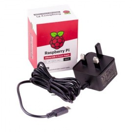Raspberry Pi 4 Official UK Power Adapter 5.1V / 3Amp