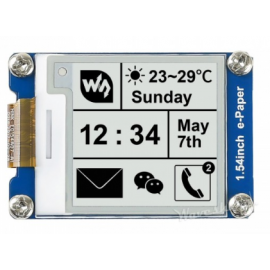 1.54inch E-Ink display module, SPI interface 200x200