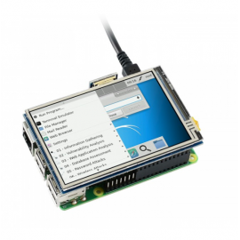3.5 inch Touch Display for Raspberry Pi (480x320, IPS)