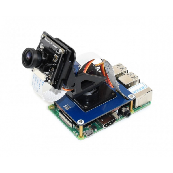 2-DOF Pan-Tilt HAT for Raspberry Pi