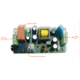 Home Automation - WiFi enabled CrazySwitch