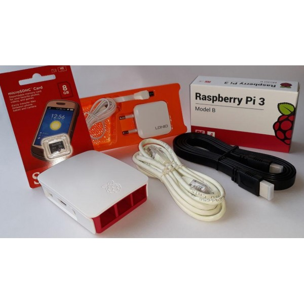 Raspberry Pi 3 Model B - Complete Kit