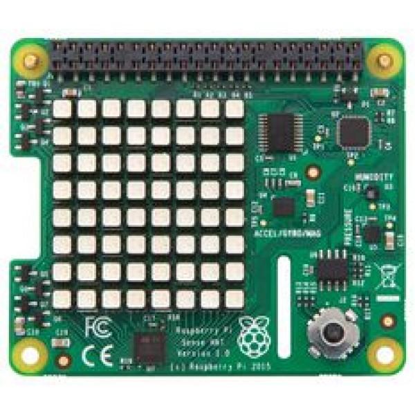 Raspberry Pi Sense HAT with Orientation, Pressure, Humidity and Temperature Sensors