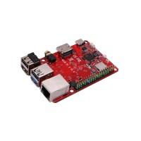 Rock Pi X B4E64 SBC/ Mini PC - Intel Atom x5-Z8350 CPU with 4GB LPDDR3 RAM, 64GB eMMC, Wi-Fi, Bluetooth, PD 2.0, QC 3.0 + HeatSink Case