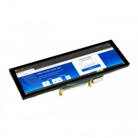 7.9inch Capacitive Touch Screen LCD, 400×1280, HDMI, IPS, Toughened Glass Cover