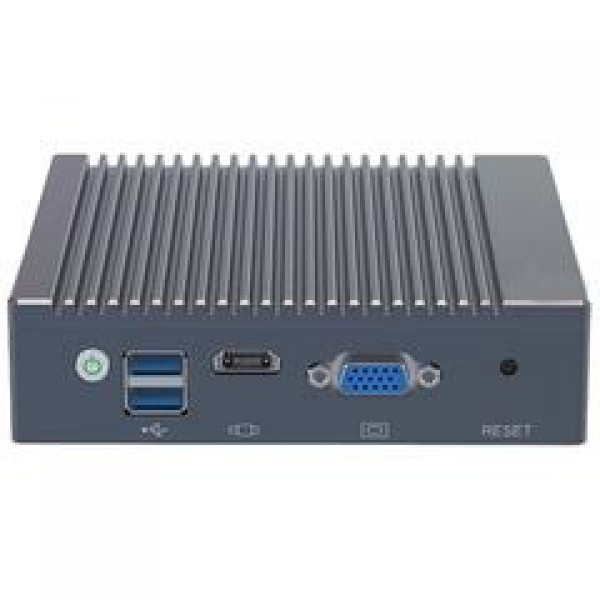 x86 Mini PC with 4 Intel Gigabit Ethernet (4GB RAM, 64GB SSD)