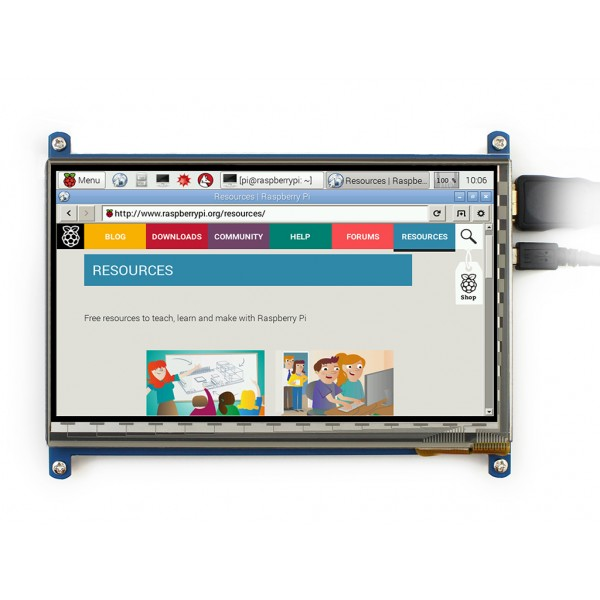7inch Capacitive Touch Screen for Raspberry Pi