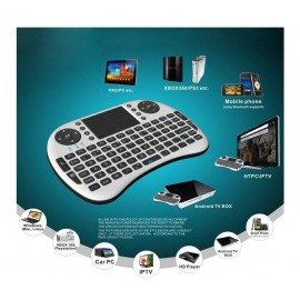 Mini Wireless Keyboard + TouchPad Mouse