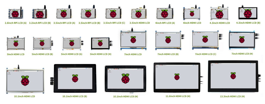 Raspberry Pi Touchscreen Displays